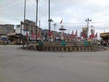 Ciudad la India de Raigarh Imagen de archivo