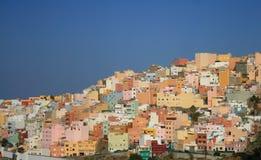 Ciudad Las Palmas de gran Canaria imagen de archivo libre de regalías