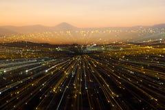 Ciudad Ligths Fotos de archivo