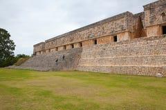 Ciudad majestuosa del maya de las ruinas en Uxmal, México Fotos de archivo
