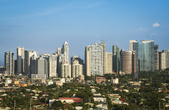 Ciudad manila Filipinas del makati del bonifacio de la fortaleza imagen de archivo
