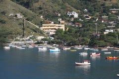 Ciudad marítima de Santa Marta. Foto de archivo