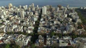Ciudad maravillosa Lugares maravillosos en el mundo Vecindad de Ipanema en Rio de Janeiro, el Brasil almacen de video