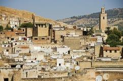 Ciudad marroquí de Fes fotografía de archivo libre de regalías