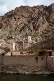 Ciudad marroquí de la explotación minera Fotos de archivo