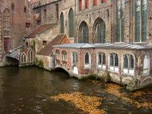 Ciudad medieval Foto de archivo libre de regalías