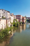 Ciudad medieval de Albi en Francia Fotos de archivo libres de regalías