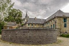 Ciudad medieval de Durbuy, Wallony, Beligium Fotografía de archivo libre de regalías