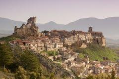 Ciudad medieval de FrÃas en Burgos, Castilla y León españa Fotos de archivo libres de regalías