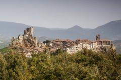 Ciudad medieval de FrÃas en Burgos, Castilla y León españa Imágenes de archivo libres de regalías