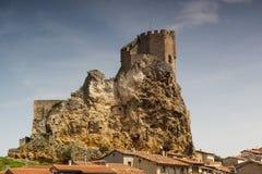 Ciudad medieval de FrÃas en Burgos, Castilla y León españa Foto de archivo