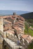 Ciudad medieval de FrÃas en Burgos, Castilla y León españa Fotografía de archivo