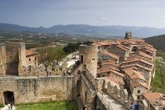 Ciudad medieval de FrÃas en Burgos, Castilla y León españa Fotografía de archivo libre de regalías