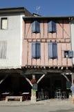 Ciudad medieval de Mirepoix Imagen de archivo libre de regalías
