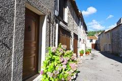 Ciudad medieval de Mons en Francia Fotos de archivo libres de regalías