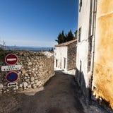 Ciudad medieval de Mons en Francia Fotografía de archivo