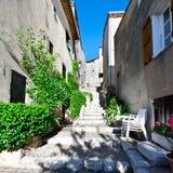 Ciudad medieval de Mons en Francia Fotos de archivo