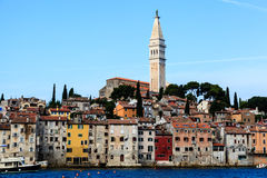 Ciudad medieval de Rovinj Foto de archivo libre de regalías