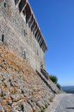 Ciudad medieval del castillo de Orem, Portugal Foto de archivo libre de regalías