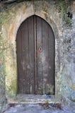 Ciudad medieval del castillo de Orem, Portugal Foto de archivo
