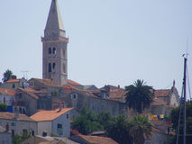 Ciudad mediterránea Fotos de archivo libres de regalías