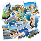 Ciudad mediterránea de Javea de la provincia de Alicante Imagen de archivo libre de regalías