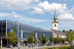 Ciudad Metzingen del mercado Fotografía de archivo libre de regalías