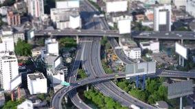ciudad miniatura almacen de metraje de vídeo