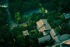 Ciudad miniatura imágenes de archivo libres de regalías