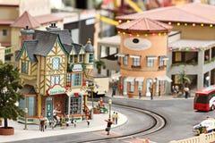 Ciudad miniatura Foto de archivo
