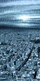 Ciudad moderna Imagen de archivo libre de regalías