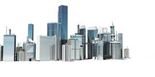 Ciudad moderna ilustración del vector