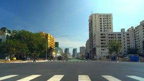 Ciudad moderna de China crosswalk r metrajes