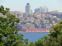 Ciudad moderna de Estambul Foto de archivo libre de regalías