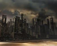 Ciudad muerta Fotografía de archivo
