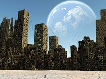 Ciudad muerta Imagenes de archivo
