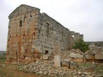 Ciudad muerta de Serjilla, Siria imagen de archivo libre de regalías