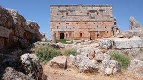 Ciudad muerta de Serjilla. Siria imagen de archivo