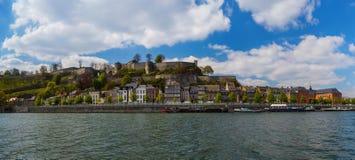 Ciudad Namur en Bélgica foto de archivo libre de regalías