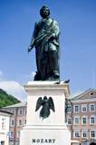 Ciudad natal de Mozart en Salzburg, Austria fotos de archivo libres de regalías