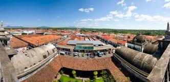 Ciudad Nicaragua de Leon Foto de archivo
