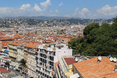 Ciudad Niza Fotografía de archivo libre de regalías