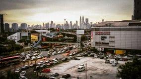 Ciudad ocupada Foto de archivo libre de regalías