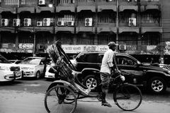 Ciudad ocupada Dacca en Bangladesh Imágenes de archivo libres de regalías