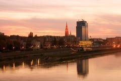 Ciudad Osijek Fotografía de archivo