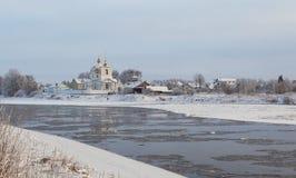 Ciudad Ostrov Fotografía de archivo