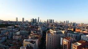 Ciudad, paisaje urbano almacen de video