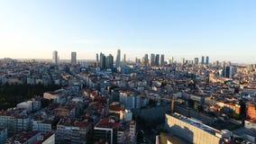 Ciudad, paisaje urbano 4K almacen de metraje de vídeo