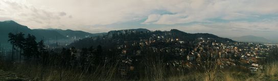 Ciudad panorámica Fotografía de archivo libre de regalías