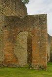 Ciudad-paredes de Arezzo Imágenes de archivo libres de regalías